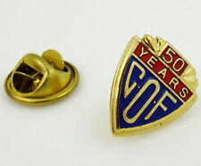 COF Lapel Pin Catholic Order of Foresters 50 Years Pinback Vintage