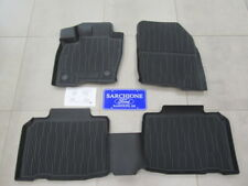 2015-2019 Ford Edge Tray Style 4 pc Molded Floor Mats 'Over the Hump' OEM