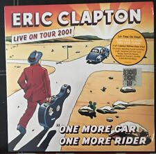 RSD 2019 ERIC CLAPTON ONE MORE CAR ONE MORE RIDER 3LP CLEAR VINYL. NEW. 19 SONGS