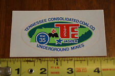 New listing Tennessee Consolidated Jasper Tn Decal Coal Mining