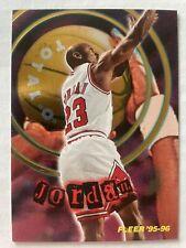 """Michael Jordan 1995-96 Fleer Total """"O"""" Insert"""
