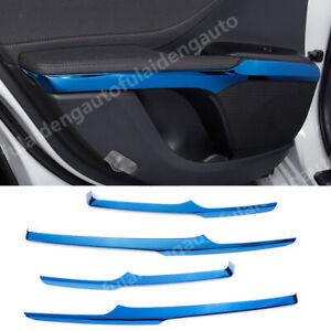 Stainless Inner Car Door Armrest Stripe Cover Trim 3Pcs For Toyota Camry 2018-20