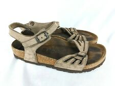Birkenstock Bali Tan Leather Soft Footbed Slingback Sandals Shoes Size: 36 / 5
