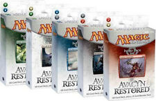 Avacyn Restored Set of all Five Intro Packs ENGLISH Sealed New MAGIC ABUGames