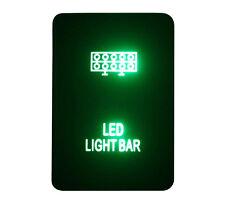 Green LED LIGHT BAR Replace Push Switch For Toyota Hilux Prado Landcruiser Rav4