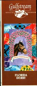 1994 Horse Racing Program  The Florida Derby  MINT Holy Bull