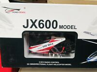 Helicopter JX600 Radio-Controlled Not Tested