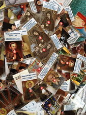 100 relic cards various saints mix collection gift prayer card saint blessed SET