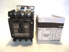 NEW EATON/CUTLER HAMMER C25DNY130 30 AMP 208-240V COIL CONTACTOR C25DNY130B