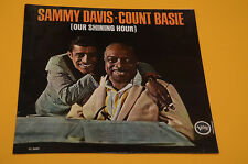 LP SOLO COPERTINA SENZA DISCO SAMMY DAVIS COUNT BASIE OUR SHINING HOUR ORIG ITAL