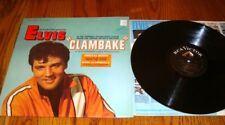 ELVIS PRESLEY CLAMBAKE ORIGINAL LP WITH BONUS PHOTO
