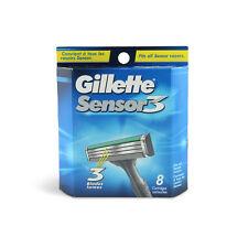 40 Gillette Sensor 3 Shaver Razor Blade Refill Cartridges Genuine 5 - 8 Packs