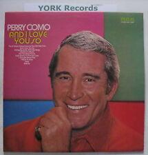 PERRY COMO - And I Love You So - Ex Con LP Record