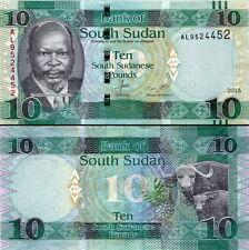 SUD-SUDAN South-Sudan - 10 pounds 2015 FDS - UNC