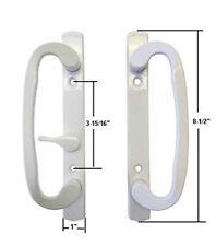 Sash Controls Mortise Style Patio Handle, B-Position, Non-Keyed, White