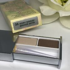 Clinique Pair Of Shades Eye Shadow Duo IVORY BISQUE / BRONZE SATIN ~ New In Box