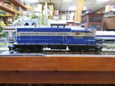 LIONEL 6-18514 MISSOURI PACIFIC GP-9 PRE OWNED TESTED O GAUGE 3 RAIL RD # 4124