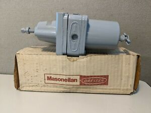 "MASONEILAN DRESSER 77-4 PNEUMATICFILTER REGULATOR 250 PSI 5-40PSI 1/4"" NPT"
