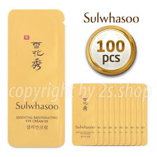 [Sulwhasoo] Essential Rejuvenating Eye Cream Ex 1ml x 100pcs Korea Cosmetics