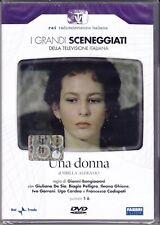 2 Dvd Sceneggiati RaiI **UNA DONNA** De Sio Pelligra Ghione Cardea completa 1977