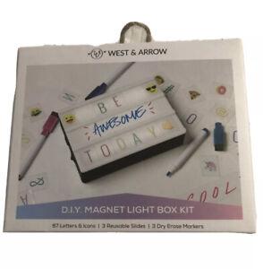 West And Arrow Light Box Light Up Led Message Box