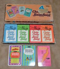 Childrens Chitty Chitty Bang Bang (1968, Western Publishing) Four Card Game Set.