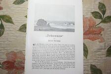 1909 Fachbericht Arena 69 / Johannes von Hans Grimm Zeichnungen Paul Scheurich