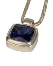Thomas Sabo Schmuck Halskette mit blauem synth. Aquamarin Collier