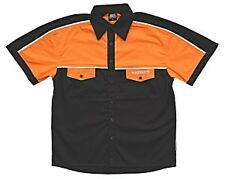 Wulfsport orange pit shirt kids team race top motocross MX childrens youth
