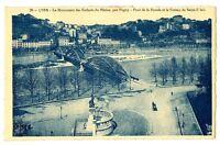 CPA 69 Rhône Lyon Le Monument des Enfants du Rhône par Pagny Pont de la Boucle