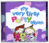 My Very First Party CD Fun Action Party Songs & Games for Kids *NEW & WRAPPED*