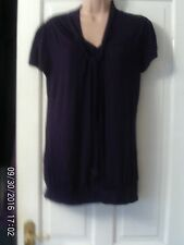 PURPLE TOP BY WAREHOUSE, SIZE 16