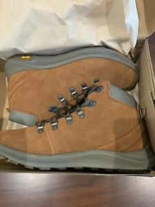 BNIB Merrell Ontario Suede Mid Men's Hiking Boots, Size 9.5M, Color Robe, J65395
