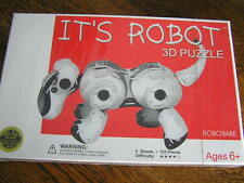 IT'S ROBOT 3D Puzzle For Ages 6+ Dr. Toy Award Winner ROBO BABE Create Your Own!