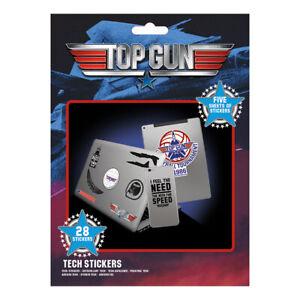 TOP GUN WINGMAN TECH STICKERS PACK 5 SHEETS (28) NEW 100% OFFICIAL MERCH