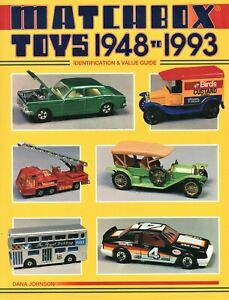 Matchbox Toys and Scale Models 1948-1993 - Makers Dates Models / Book + Values