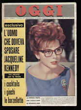OGGI 53/1964 SORAYA SORDI HITLER ARNAUDOW FRACCI DE SICA KIM NOVAK PABLITO CALVO