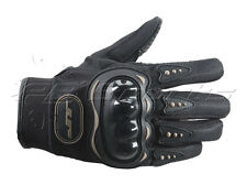 Empire Jt Tactical Field Gloves Black Large L Lg Hard Knuckle Back Full Finger