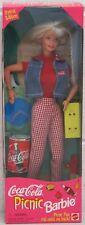 Coca Cola Picnic Barbie Doll Special Edition Mattel Vintage (NM Box) 19626 NRFB