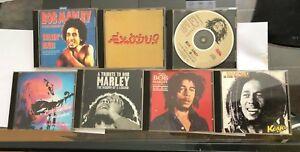 7 Vintage BOB MARLEY & Bob Marley & the Wailers CD Collection Lot ~ See Details