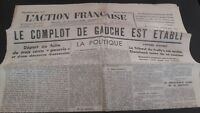 Journal Nationalist L Action Figure French 18 Mars 1934 N° 77 ABE