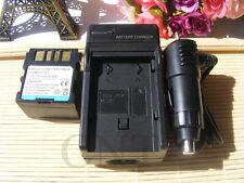 Battery PACK + Charger for JVC BN-VF707 BNVF707 BN-VF707U BNVF707U Camcorder NEW