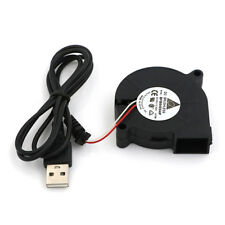 DC 5V USB Blower Fan 5cm 50mm 50x15mm Brushless Computer Cooling Sleeve Bear BP
