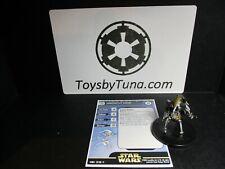 Star Wars Miniatures Destroyer Droid Clone Strike CS w/ Card mini RPG Legion