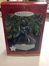 Star Wars Hallmark Keepsake Ornament Darth Vador Light and Voice