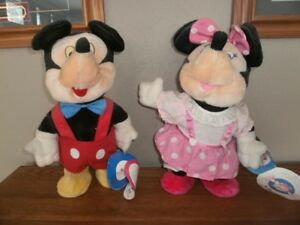 Vintage Worlds Of Wonder Little Boppers Disney Mickey & Minnie Mouse