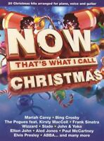 Now That's What I Call Christmas PVG Piano Vocal Guitar Sheet Music Book