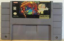 Super Metroid (Super Nintendo Entertainment System, Snes 1994) Authentic