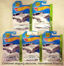 Hot Wheels 2014 233/250 Workshop White '64 Chevy Chevelle SS Lot of 5