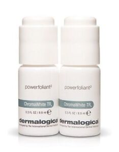 Dermalogica ChromaWhite TRx Powerfoliant 2 (2 vials at 0.3 Oz. / 8.9 mL)